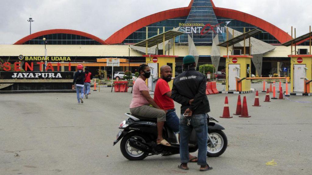 Geliat Aktivitas Bandara Sentani yang Kembali Dibuka
