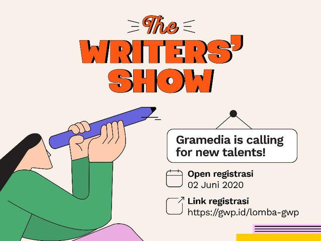 Gramedia Writing Project Cari Penulis Muda Berbakat