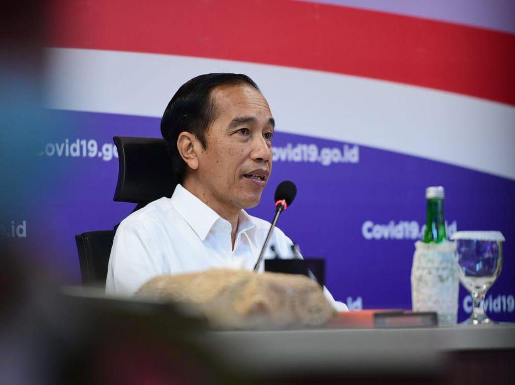 Ekonomi RI Minus, Jokowi Bandingkan dengan Negara Lain