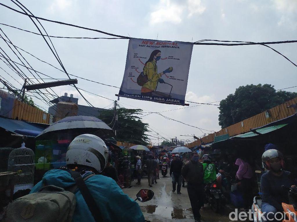 PSBB Transisi DKI, Begini Kondisi Pasar Jatinegara dan Pasar Minggu