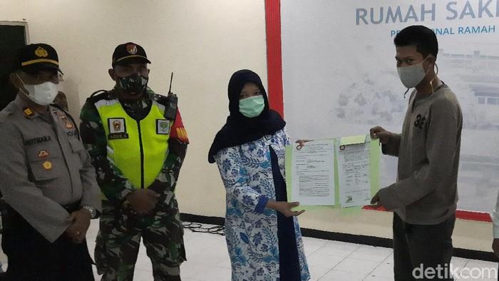 Mediasi antara keluarga dengan pihak RS Mekar Sari Bekasi soal Jenazah PDP Corona Dijemput Paksa