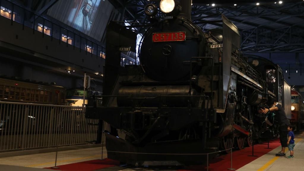 Melongok Museum Kereta di Jepang