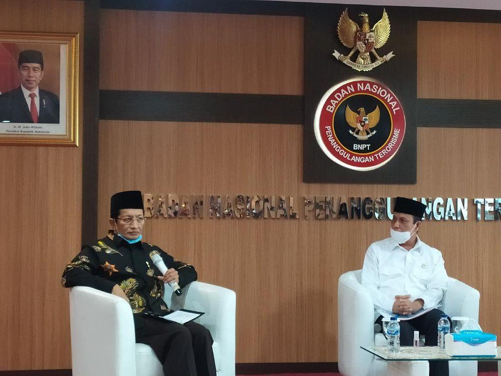 Nasaruddin Umar Minta Pendekatan Holistik Dikedepankan untuk Berantas Terorisme