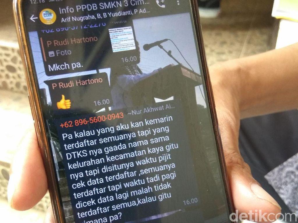 Permudah Ortu Siswa Akses Informasi, Panitia PPDB di Cimahi Bikin Grup WA