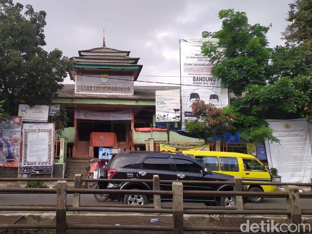 Setelah Sempat Buka Tadi Pagi, Pasar Leuwipanjang Kini Tutup Selama 2 Pekan
