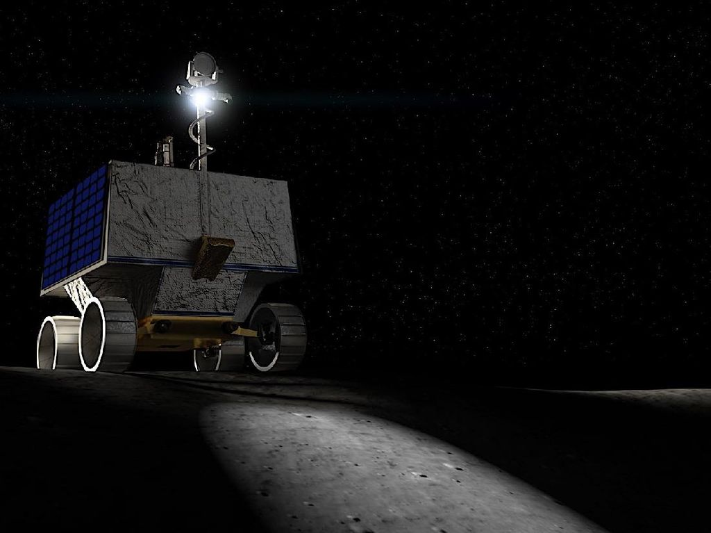 Viper, Rover NASA untuk Cari Air di Bulan