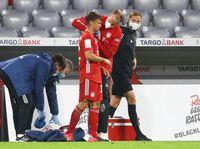 Ngeri! Kepala Kimmich Terinjak Pemain Frankfurt Hingga Berdarah