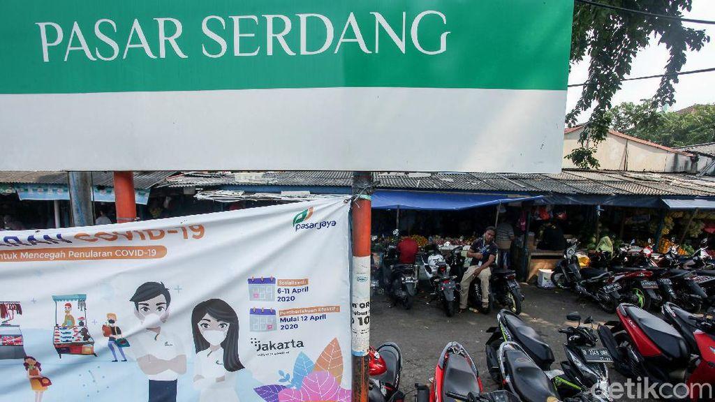 14 Pedagang Positif Corona, Pasar Serdang Kemayoran Masih Buka