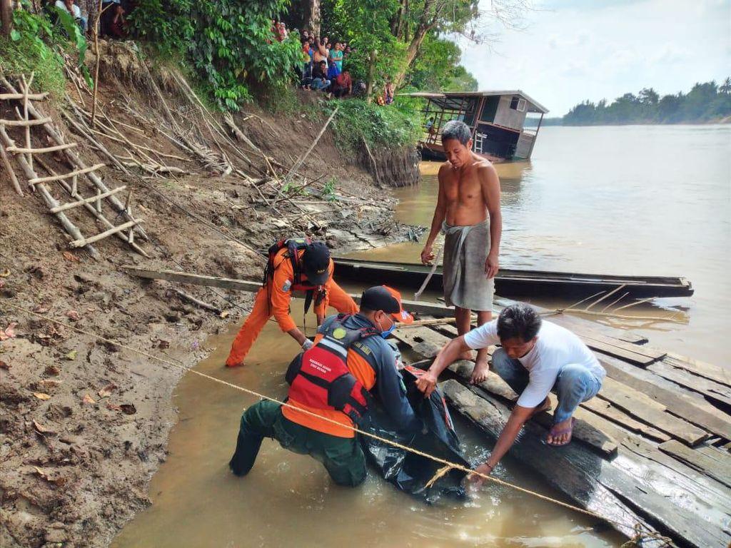 Jenazah Nenek Muna Terpeleset di Sungai Batanghari Jambi Ditemukan