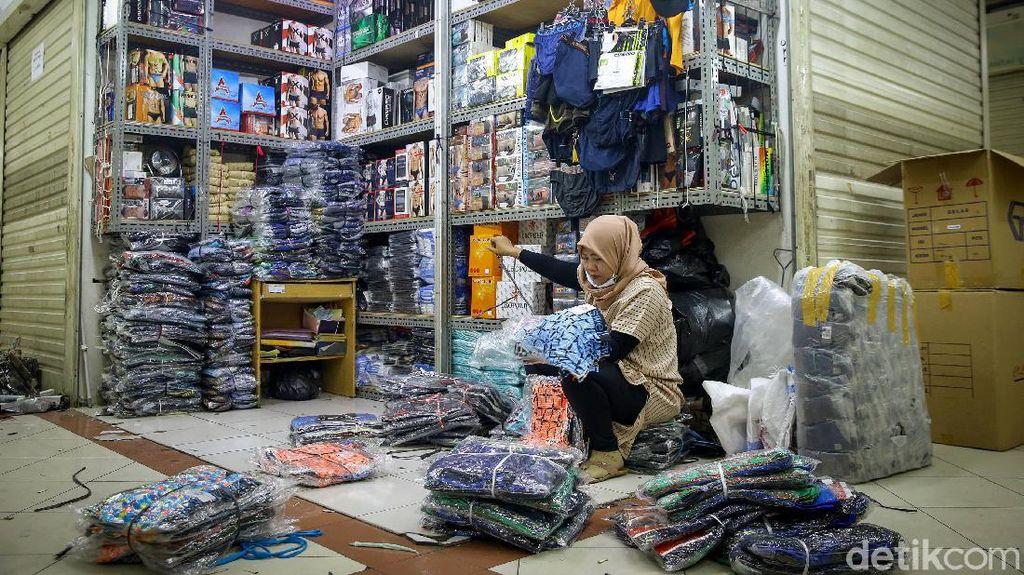 Buka 15 Juni, Kios-kios Tanah Abang Blok A Pakai Ganjl Genap