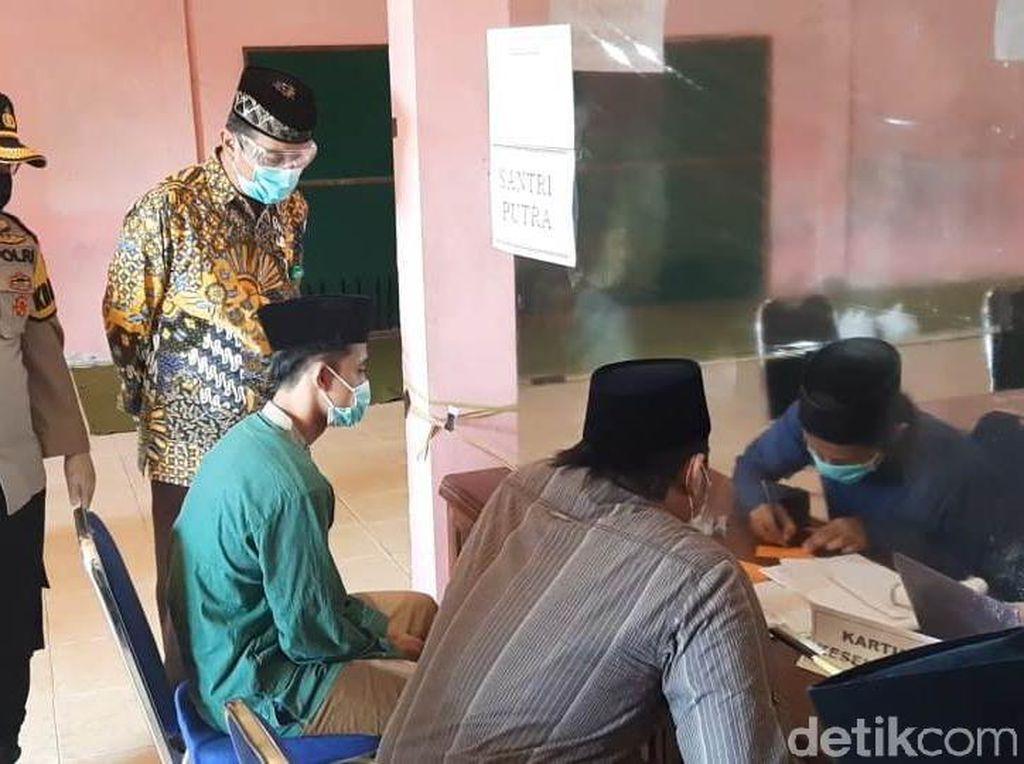 Ponpes di Rembang Bergeliat, Santri dari Zona Merah Corona Wajib Rapid Test