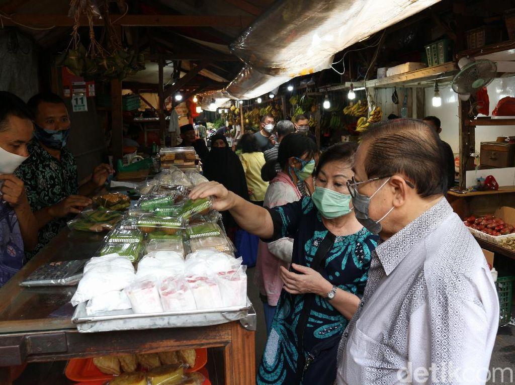 Ini Protokol Pencegahan Corona Bagi Pedagang di Pasar Tradisional