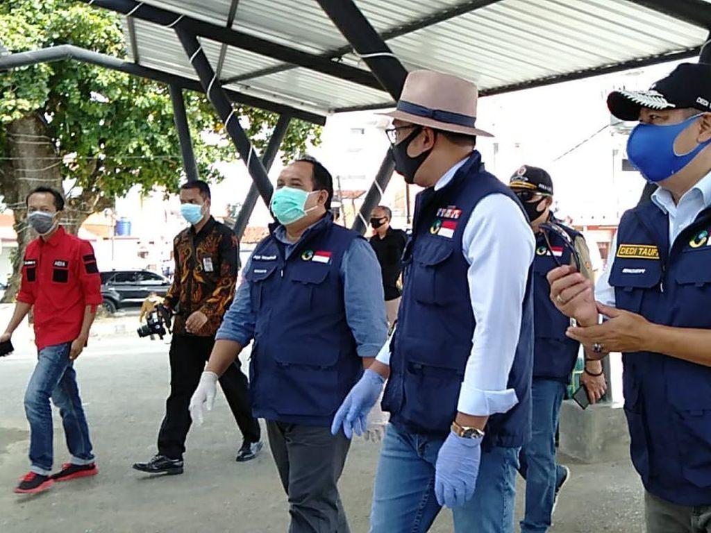 New Normal, Ridwan Kamil Cek Penerapan Protokol Kesehatan di Pangandaran