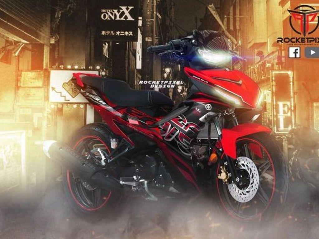 Ini Perkiraan Desain Final Yamaha MX King, Keren Enggak?