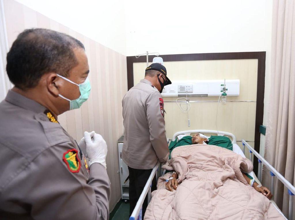 Kapolda Sumut Tegaskan Polisi Buru Pelaku yang Bacok Aipda Daely di Belawan