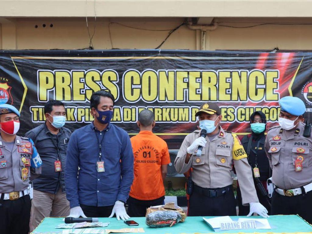Edarkan Ganja di Lingkungan Kerja, Karyawan PT Krakatau Steel Ditangkap