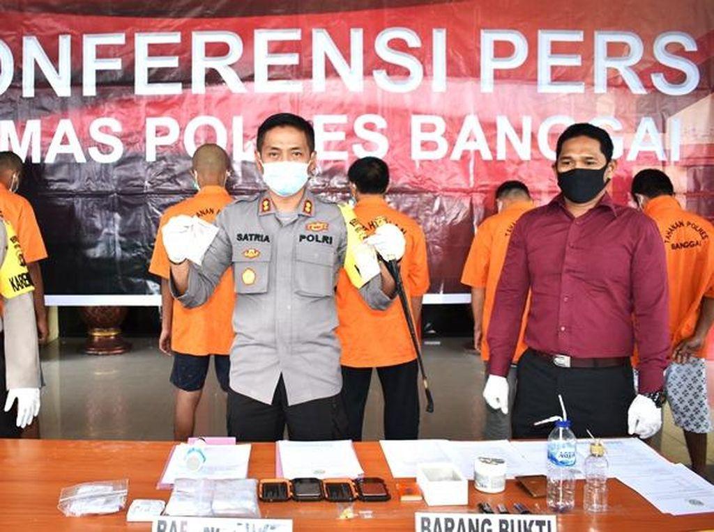 Pengedar di Sulteng Ngaku Harga Sabu dari Pemasok Naik Saat Pandemi