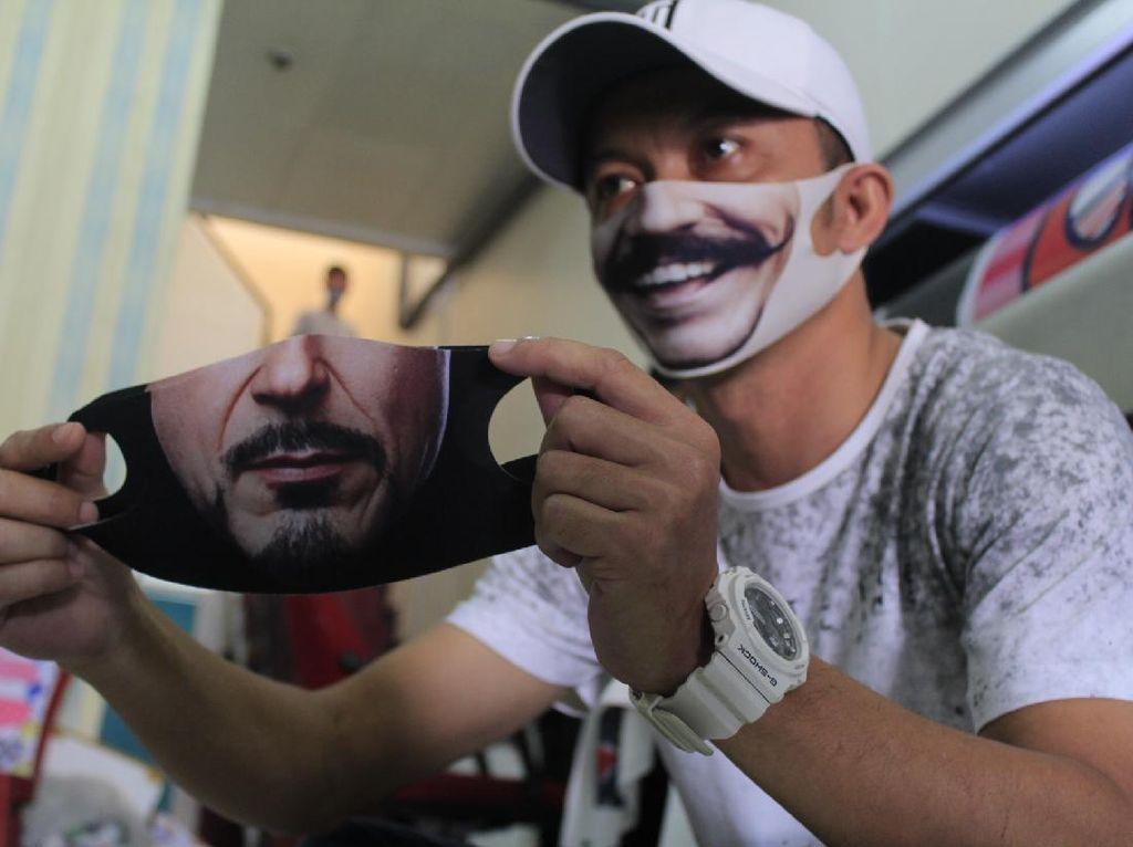 Berkah di Balik Wabah, Pria Bandung Raup Rp 1 M Jual Masker Karakter
