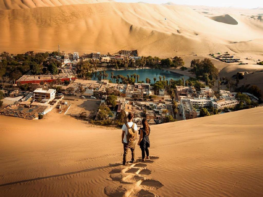 Peru Punya Oasis Paling Indah di Dunia Lho