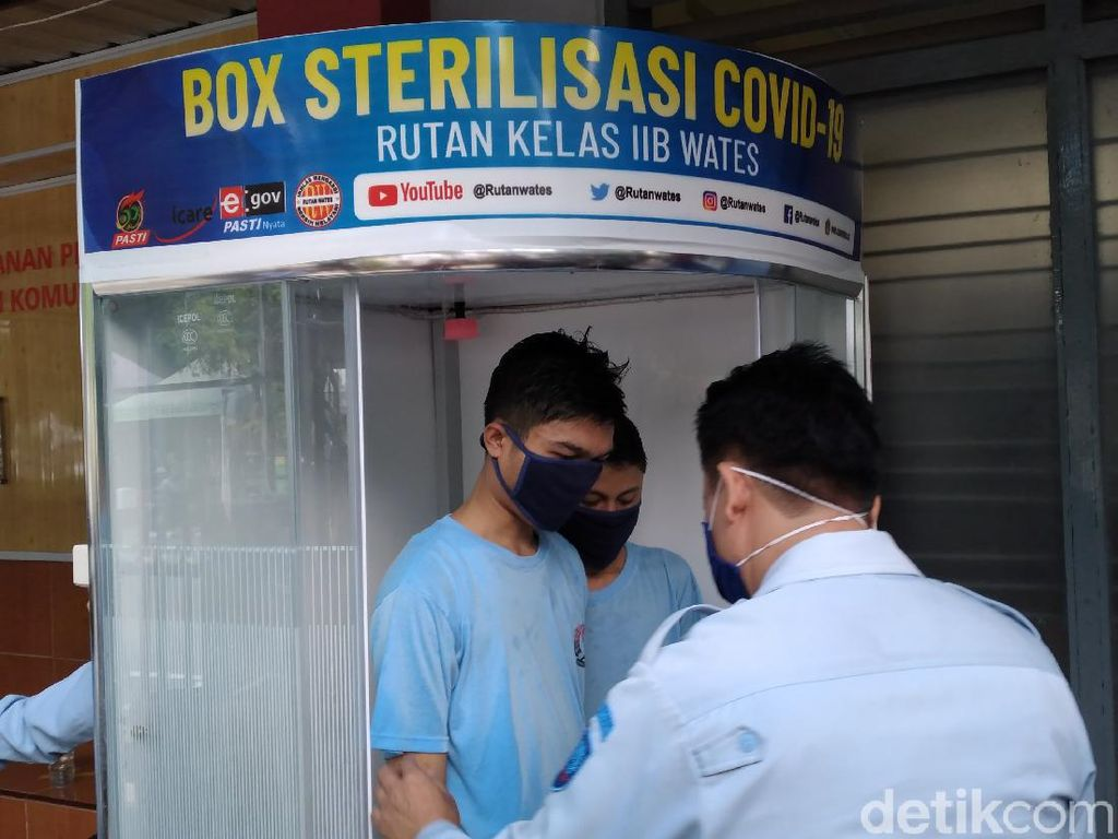 Sempat Dititipkan di Polres Gegara Pandemi, 9 Napi Dipindah ke Rutan Wates
