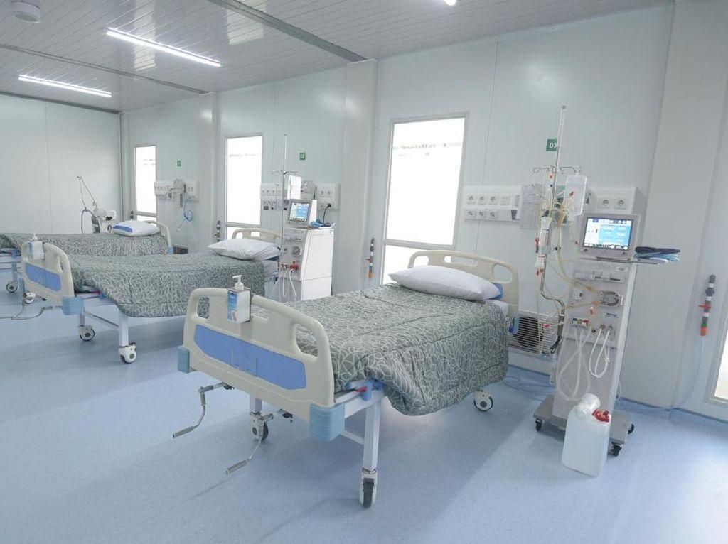 RS Corona di Lapangan Bola Simprug Punya Fasilitas Kesehatan Lengkap