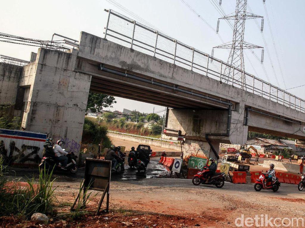 Progres Terkini Flyover Bukit Indah Tangsel