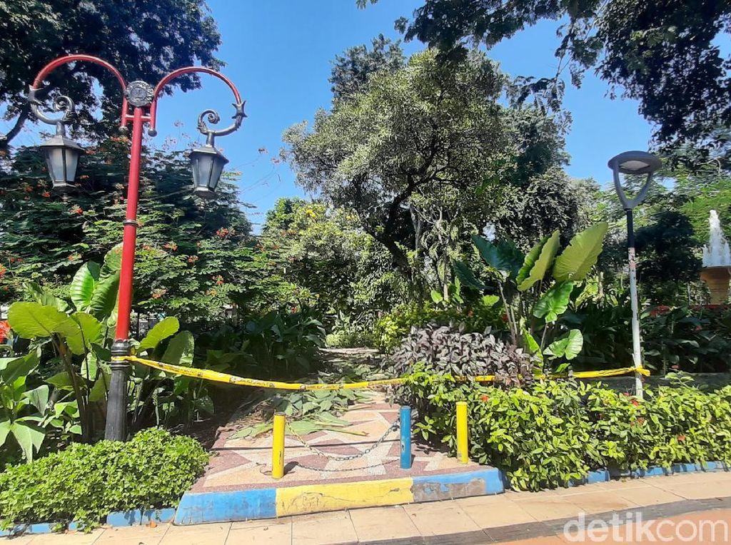 Taman di Surabaya Dibuka Kembali, Tapi Pengunjung Dibatasi