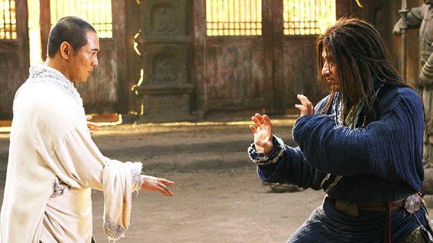 Adegan di film The Forbidden Kingdom.