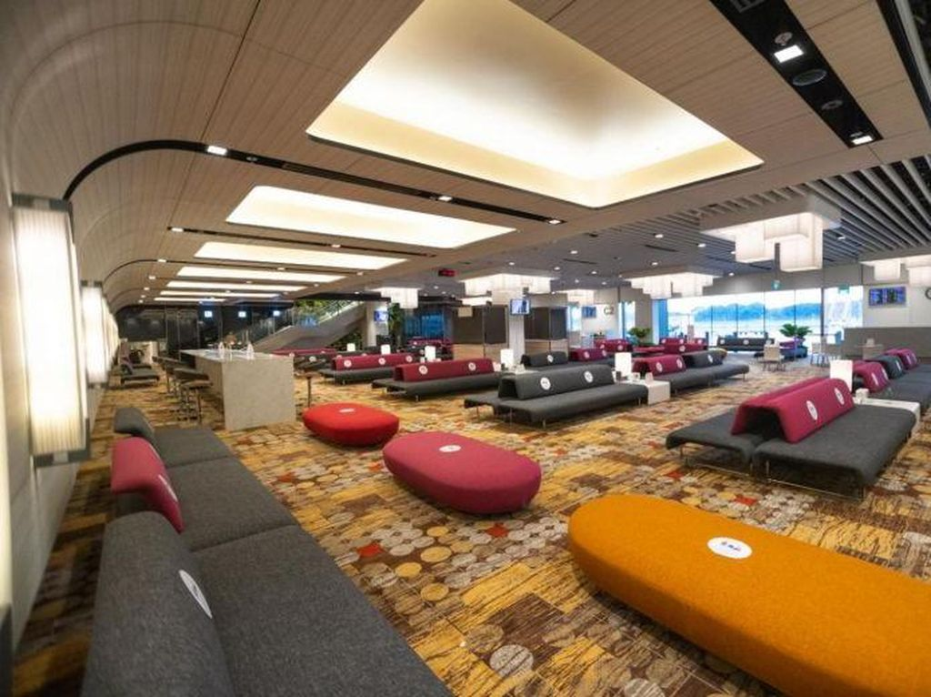 Bandara Changi Punya Area Khusus Penumpang Transit