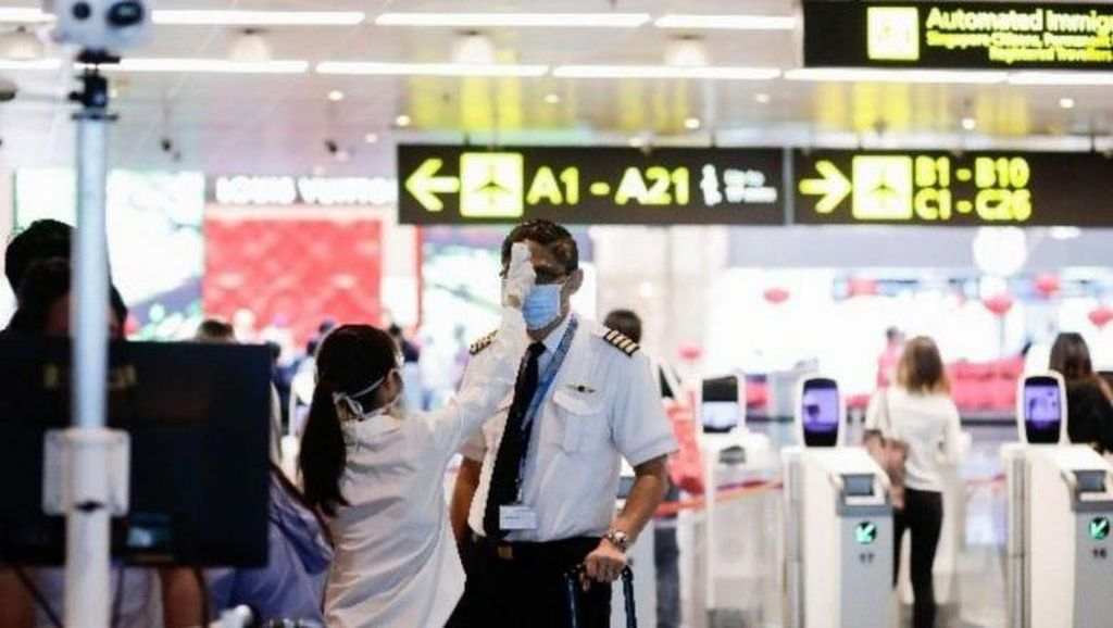 Foto: Area Transit Terbaru Bandara Changi