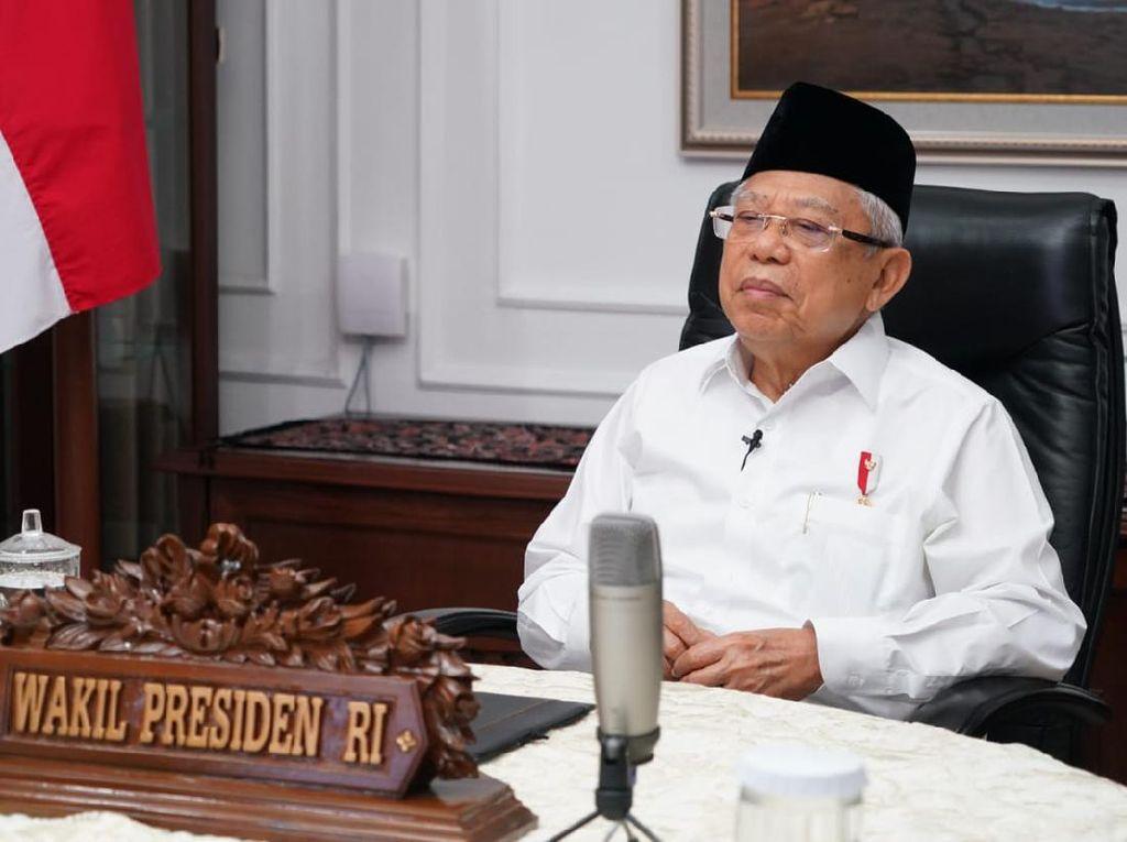 Maruf Amin Ingatkan 4 Syarat Daerah Menuju New Normal
