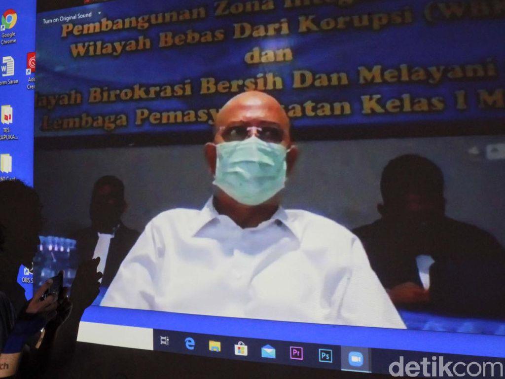 Walkot Medan Nonaktif Dzulmi Eldin Dieksekusi ke Lapas Tanjung Gusta