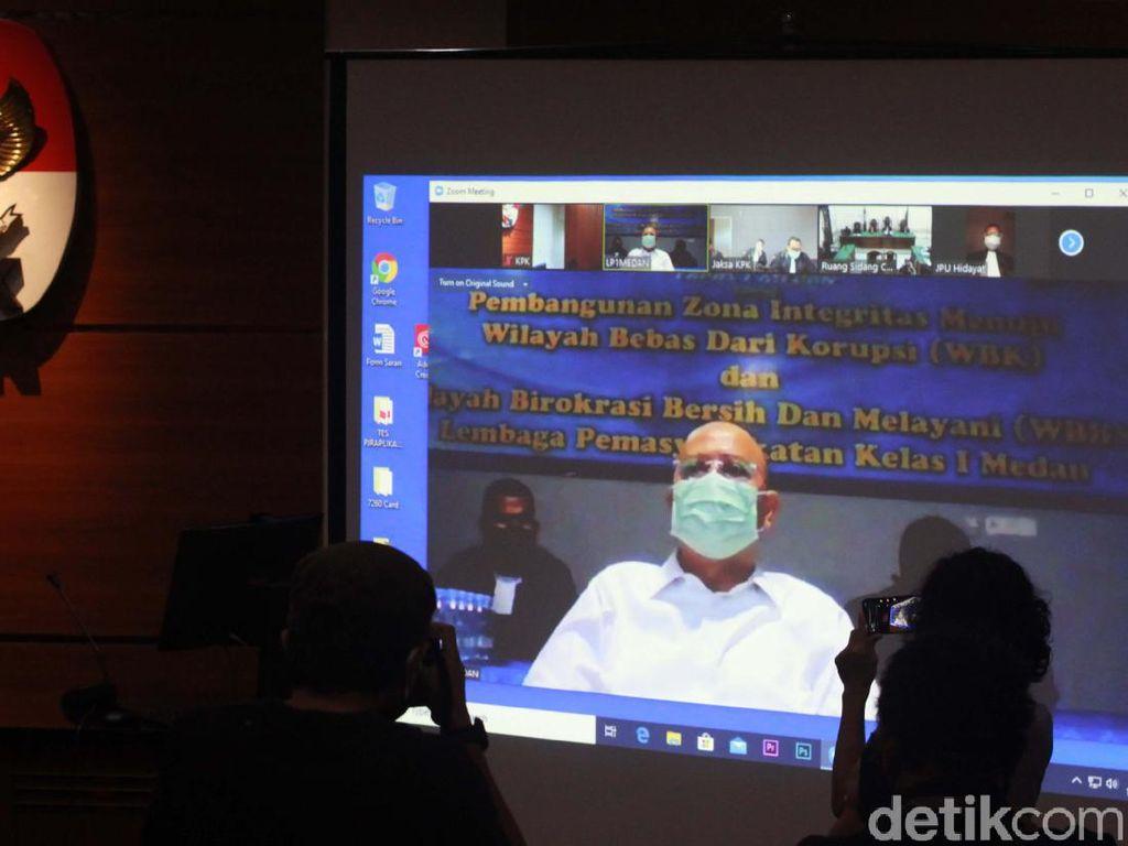 Wali Kota Medan Nonaktif Dzulmi Eldin Ajukan Banding Vonis 6 Tahun Penjara