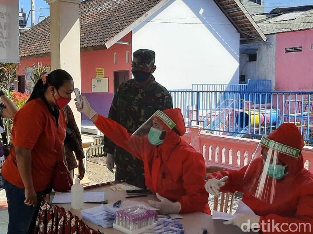 400 Pedagang Pasar Tradisional Blitar Rapid Test, 15 Reaktif