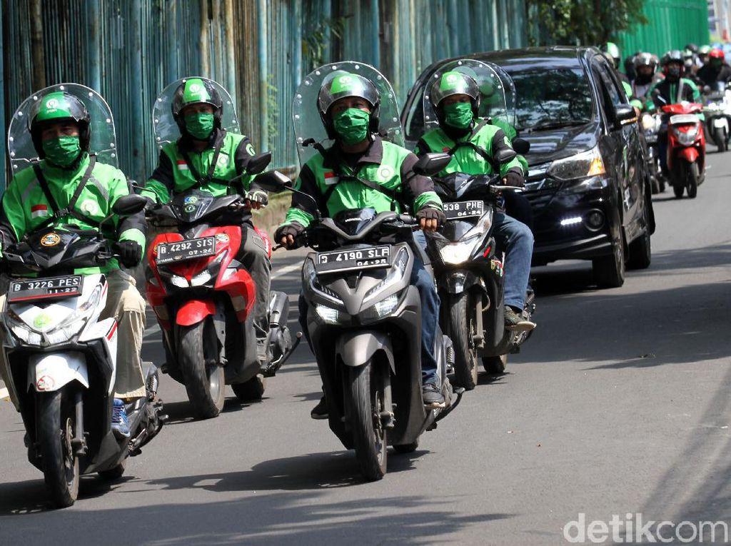 Ojol Boleh Angkut Penumpang Saat PSBB Ketat di Jakarta