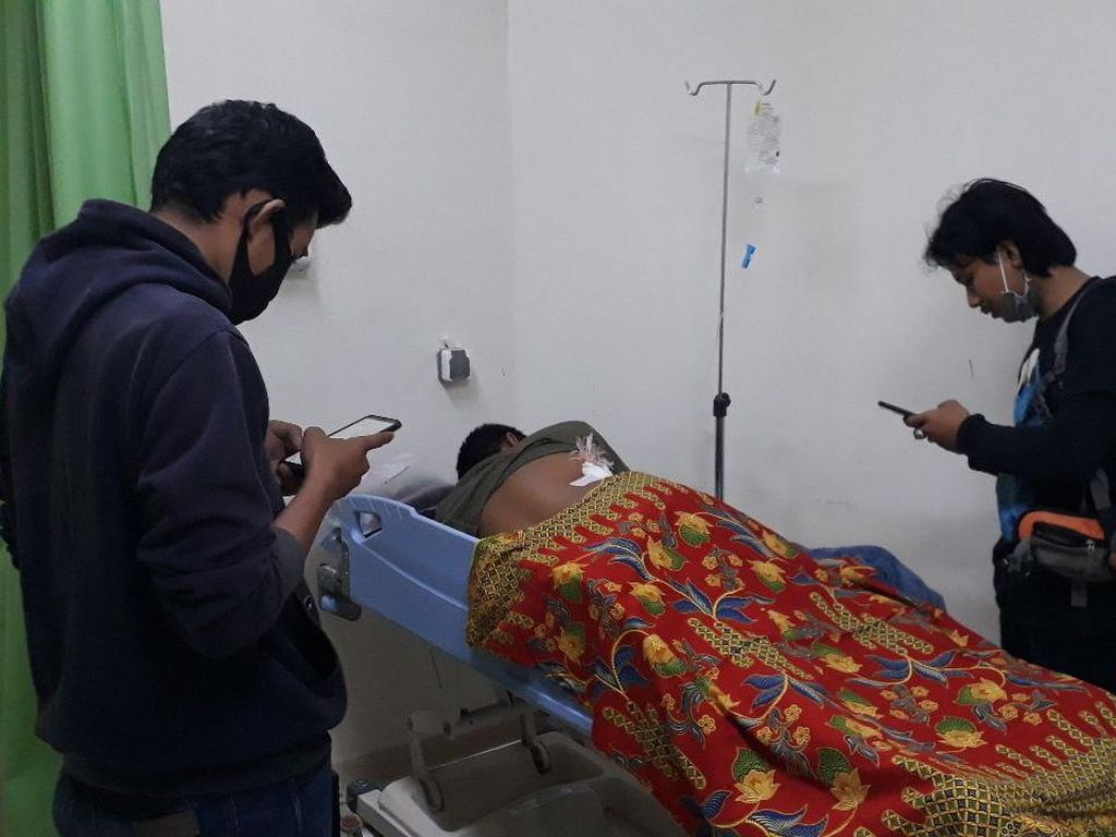 Dipanah Kelompok Bermotor di Makassar, Seorang Polisi Terluka