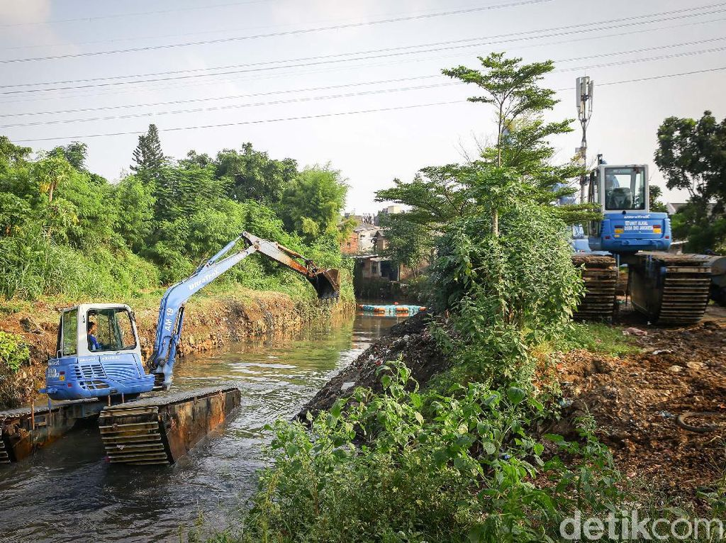 Normalisasi Sungai Hilang di Draf RPJMD 2017-2022, Ini Kata Pemprov DKI