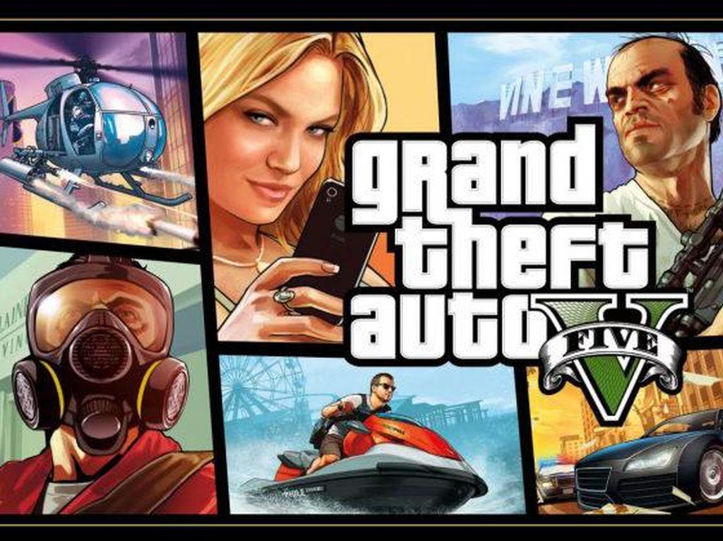 Laris Manis, GTA V Terjual 145 juta Kopi di Seluruh Dunia