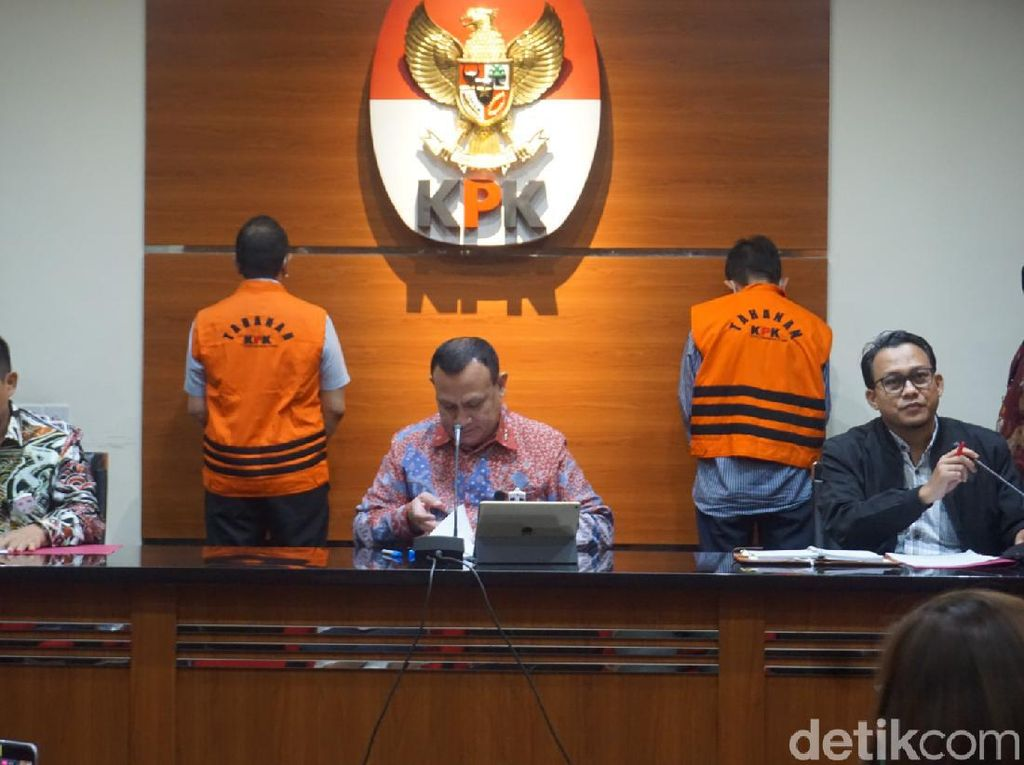 KPK Ciduk Eks Dirut PT Dirgantara Indonesia