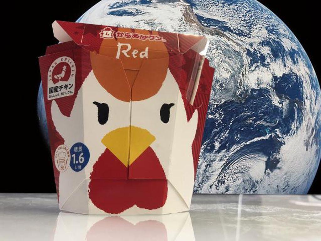 Keren! Ayam Goreng Mini Market di Jepang Jadi Bekal Makanan Astronot