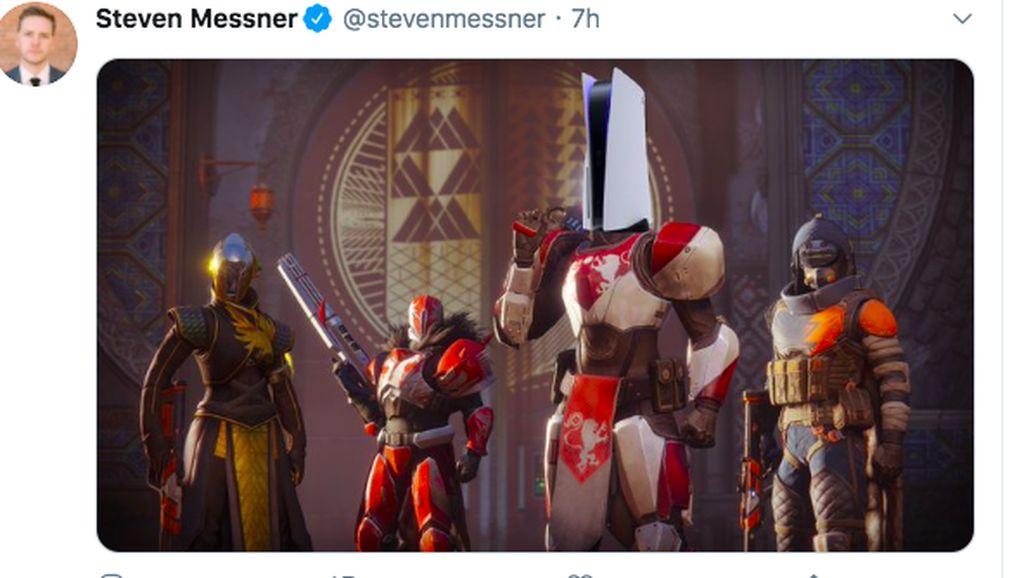 Wujud PS5 Diplesetkan Jadi Deretan Meme Kocak