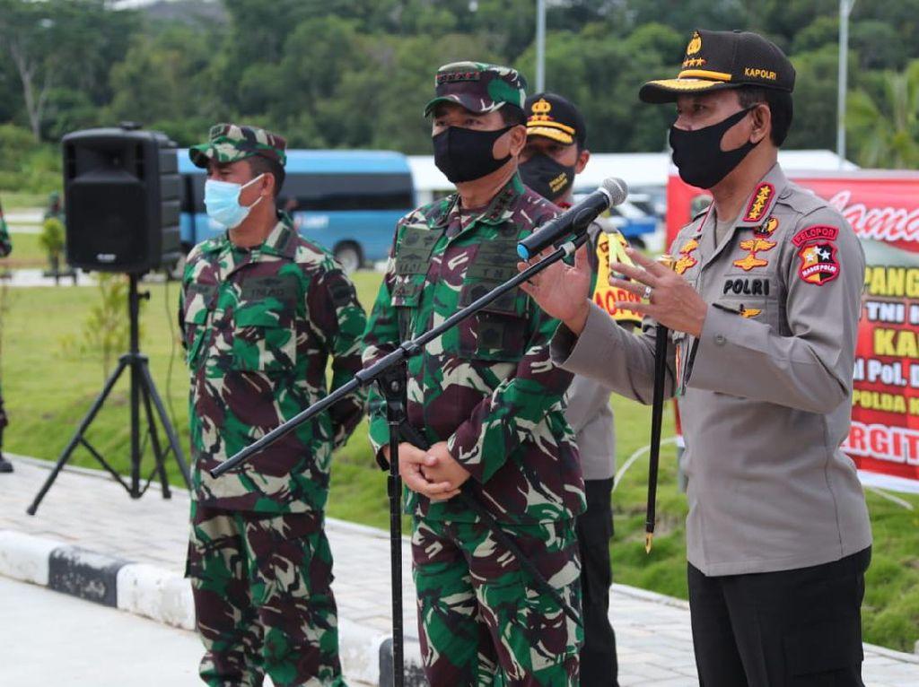 Video Panglima TNI dan Kapolri Cek Kesiapan New Normal di Batam
