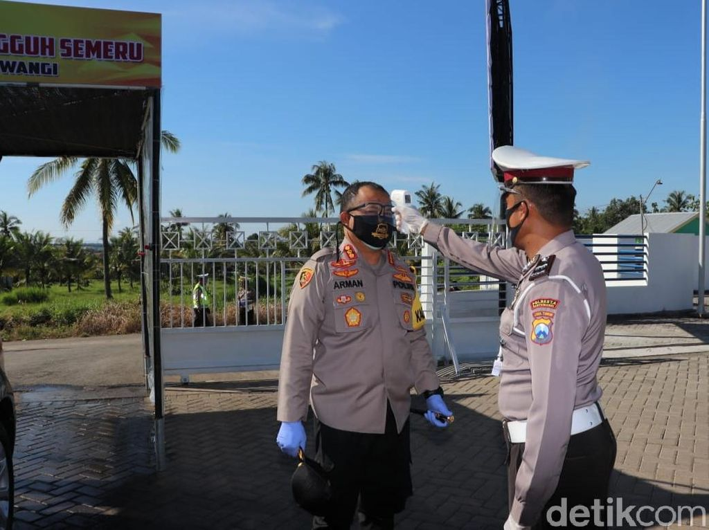 Polisi Banyuwangi Terapkan New Normal New Spirit via Satpas Prototipe Tangguh