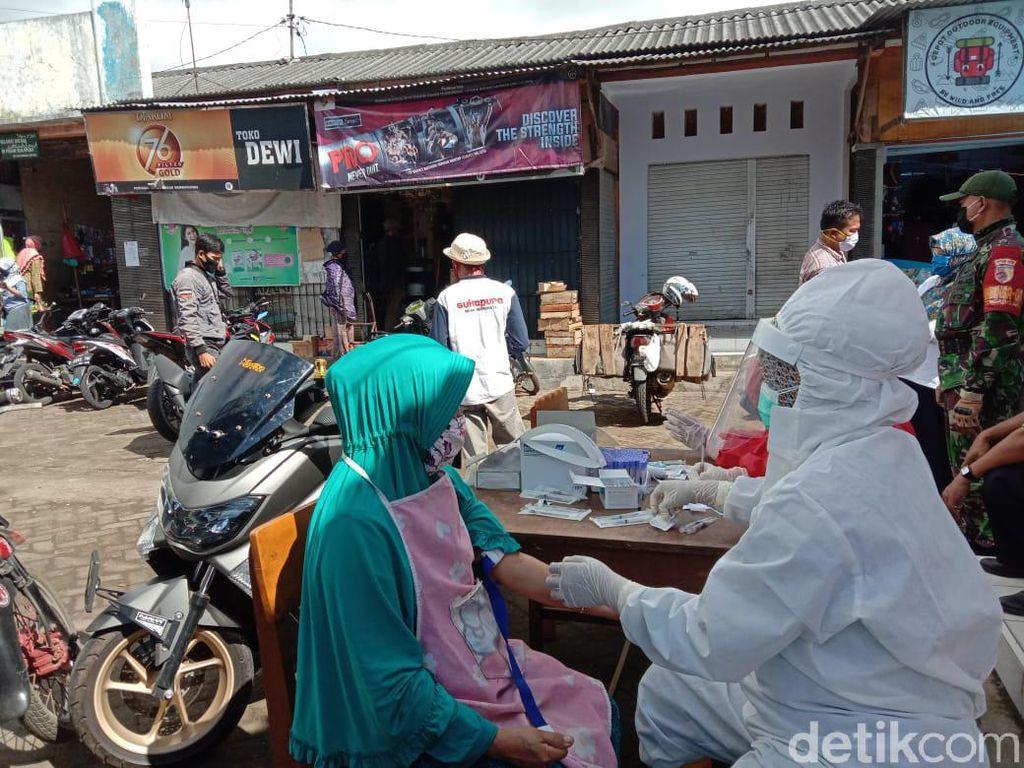 108 Pedagang di 8 Pasar Tradisional Probolinggo Reaktif,  14 Positif
