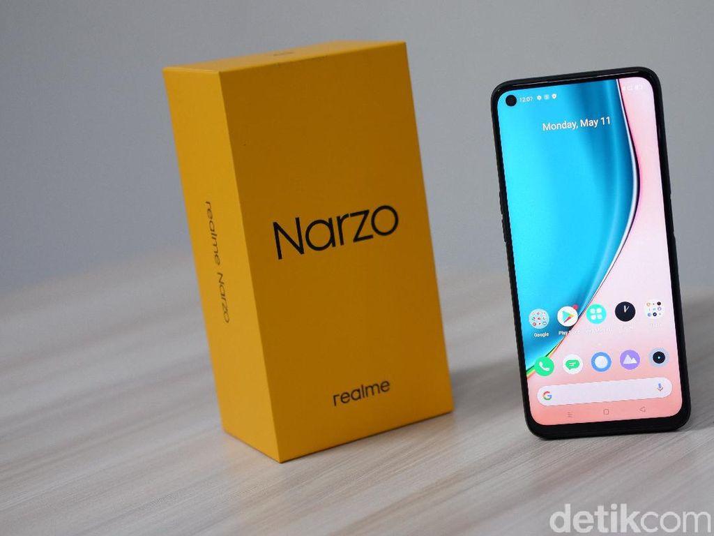 Realme Narzo, Kamera Sip Buat Ponsel Rp 2 Jutaan