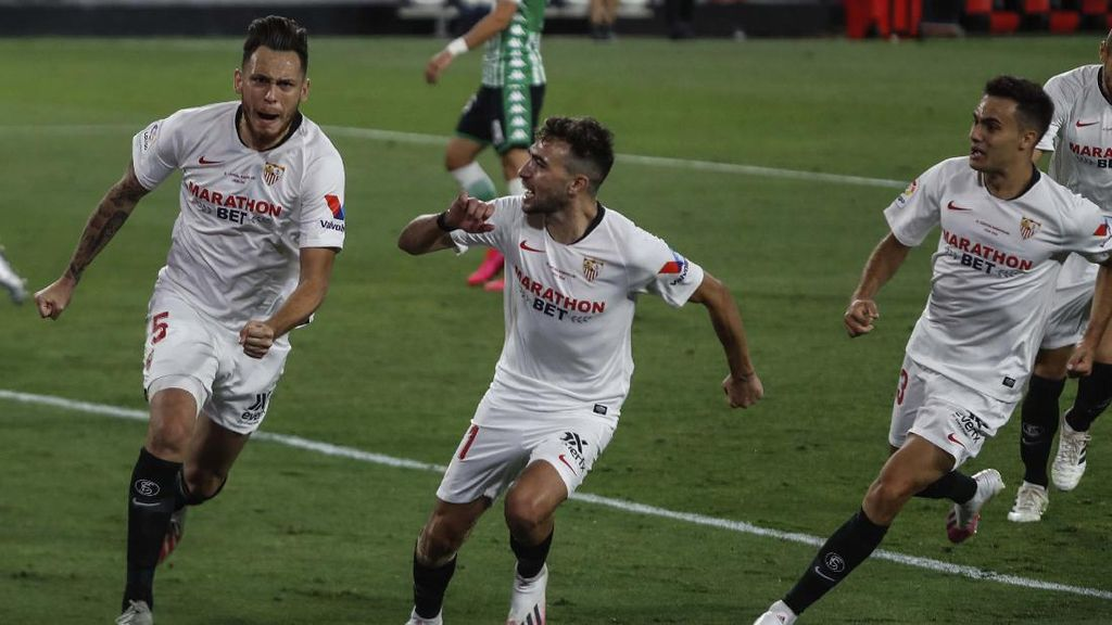 Sevilla Berjaya di Laga Lanjutan Liga Spanyol