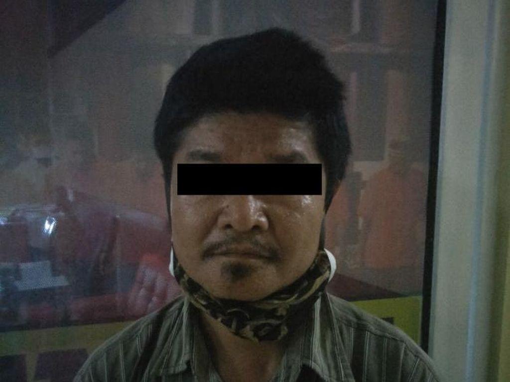Suami Pukuli Istri di Riau Gegara Diminta Uang Gaji Serahkan Diri ke Polisi