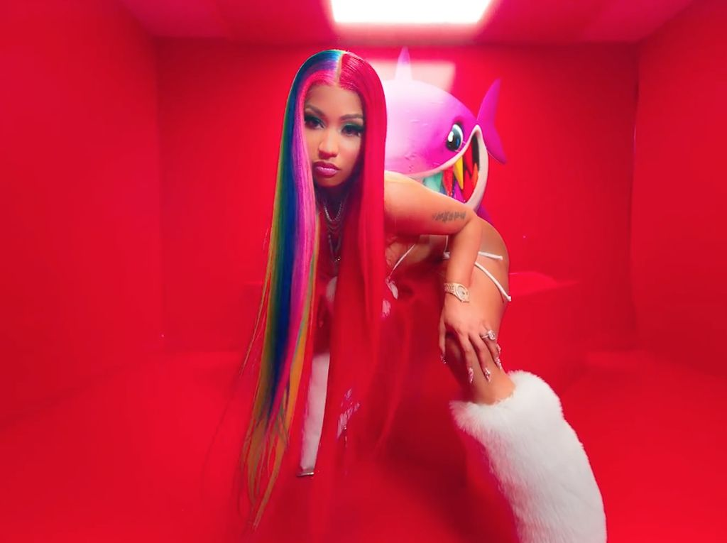 Nicki Minaj Ngomel dan Sindir Musisi Kulit Putih di Grammy Awards