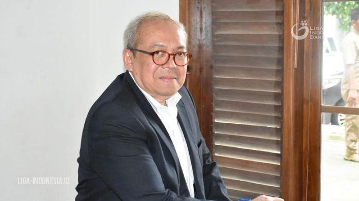 Ditrektur Utama PT LIga Indonesia Baru, Akmad Hadian Lukita.
