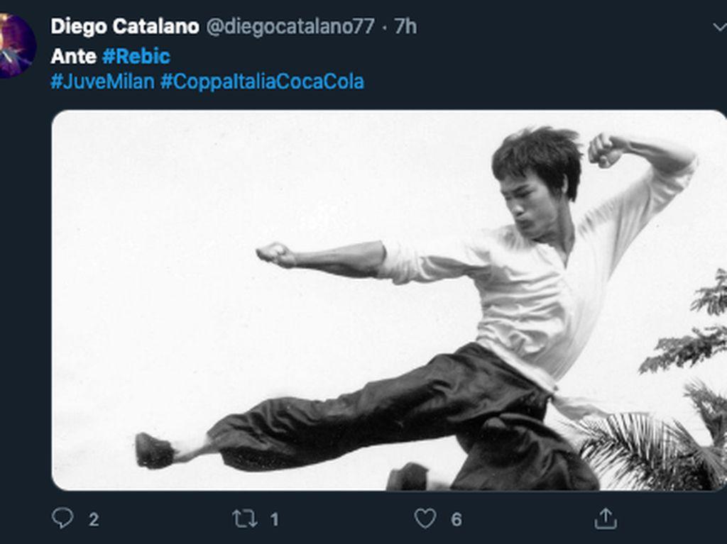 Meme Ante Rebic: Kayak Bruce Lee, Smackdown, dan Mortal Kombat